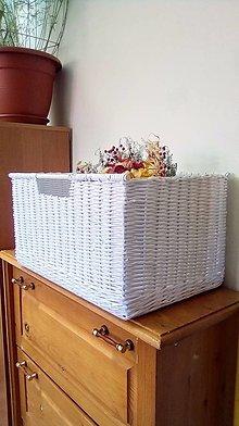 Košíky - Kúpeľňový kôš BAŠKA - 13427313_