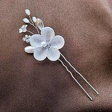 """Ozdoby do vlasov - Vlásenka """"ľadový kvet"""" - 13429042_"""