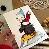 Kresby - Sám premýšľam/ reprodukcia ilustrácie - 13431413_