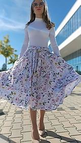 Sukne - Kruhová sukňa Olivia s vreckami - 13432321_