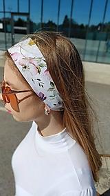 Ozdoby do vlasov - Látková čelenka Olivia - 13432395_