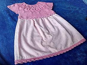 Detské oblečenie - Detské šatôčky - 13430907_
