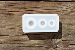 Pomôcky/Nástroje - Sada troch foriem na gulľaté náušnice alebo prívesky - 13430773_