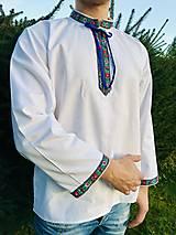 Folklórna košeľa pánska Ján
