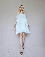 Šaty - Šaty Glacon modré - 13430996_