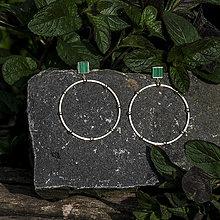 Náušnice - Visiace kruhy - 13433043_