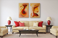Obrazy - Abstrakt X2 a X3 - 13431507_