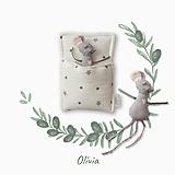 Hračky - Myška Olívia - 13432756_