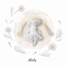 Hračky - Bábika Molly - 13432748_