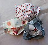 Rúška - Ochranné rúška na tvár detské - Výhodný balík 3 ks - 13431953_
