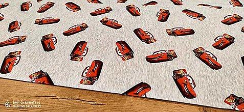 Textil - Teplákovina - Digitálna potlač - McQueen - cena za 10 centimetrov - 13433345_