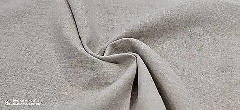 Textil - Ľan  (Šedá) - 13433378_