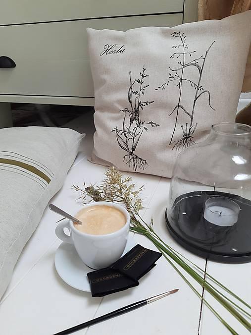 Úžitkový textil - Vankúš trávy - 13434740_
