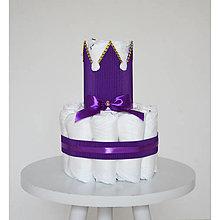 Detské doplnky - Plienková torta - 13435440_