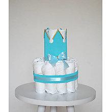 Detské doplnky - Plienková torta - 13435482_