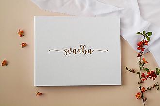 Papiernictvo - Svadobný album- razba Svadba - 13435380_