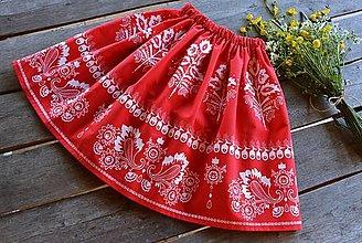 Detské oblečenie - Detská suknička / sukňa - folk - 13434015_