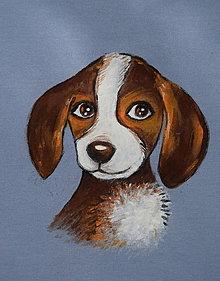 Tričká - detské tričko so psíkom - 13435789_