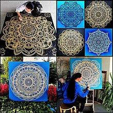 Obrazy - MANDALA na mieru-osobná, rodinná, partnerská,originálny dar pre Vašich blízkych,energetický obraz,talizman - 13437805_