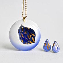 Sady šperkov - Porcelánový náhrdelník - Introvert no.47 - 13437602_