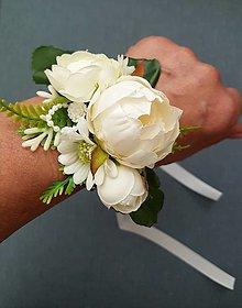 """Náramky - Svadobný náramok """"nežná elegancia"""" - 13437437_"""