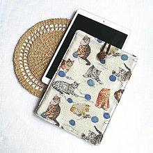 """Detské tašky - Puzdro na 10,5"""" iPad, tablet Mačky - 13438199_"""