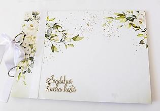 Papiernictvo - svadobná kniha hostí - 13438856_