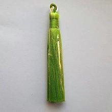 Galantéria - Strapec 9x1,5cm-sv.zelená-1ks - 13440474_
