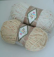 Galantéria - Priadza Alize Cotton Gold Tweed - 13439962_