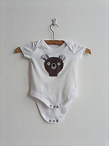 Detské oblečenie - Reflexné body - MEDVEDÍK - 13440206_