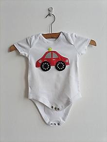 Detské oblečenie - Reflexné body - AUTÍČKO - 13440281_