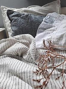 Úžitkový textil - Lněné povlečení SIMPLICITY - 13441092_