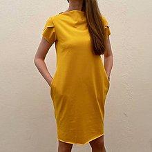 "Šaty - Šaty "" žlté "" - 13441652_"