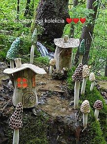 Socha - Domček z Rozprávkovej kolekcie - 13439453_