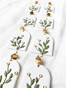 Náušnice - kvetinové náušnice | Beth - 13439500_