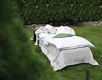 Úžitkový textil - Ľanové obliečky Martina - 13441829_