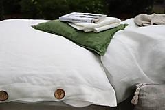 Úžitkový textil - Ľanové obliečky Martina - 13441830_