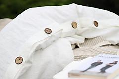 Úžitkový textil - Ľanové obliečky Martina - 13441834_