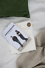 Úžitkový textil - Ľanové obliečky Martina - 13441848_