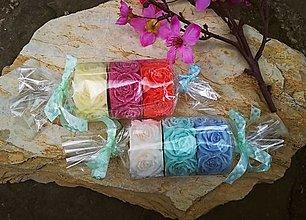 Svietidlá a sviečky - Sada čajových ružičkových sviečok - 13440397_
