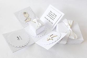 Krabičky - Exploding box - darčeková krabička k prvému svätému prijímaniu - 13442174_