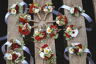 Pierka - Folk svadobný set - 13445265_