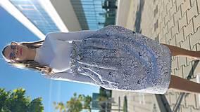 Ozdoby do vlasov - Látková čelenka Selena/Marianna - 13443491_
