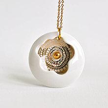 Náhrdelníky - Porcelánový náhrdelník - Introvert no.38 - 13444427_