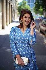 Šaty - ŠATY DOLCE VITA MADEIRA LIGHT BLUE - 13443634_