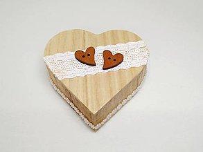 Krabičky - Krabička na svadobné obrúčky❤️ - 13443490_