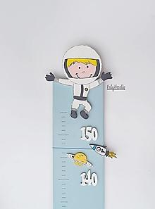 Detské doplnky - Rastový meter vesmír ll. - 13445838_