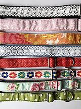 Pre zvieratá - Obojok rôzne farby - posledné kusy - 13446590_