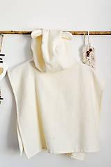 Detské oblečenie - Detské plážové pončo (100% organická bavlna) - 13445830_