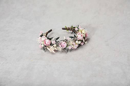 """Kvetinová čelenka """"duša rozkvitnutá"""""""
